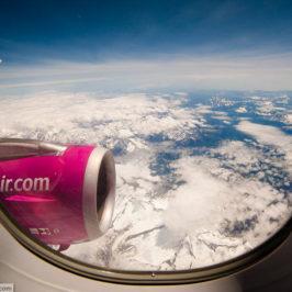 Из Праги в Барселону: фотографии из самолета