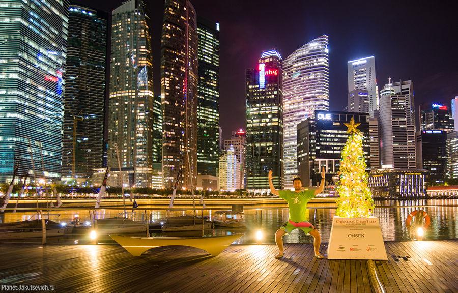 сингапур фото новый год