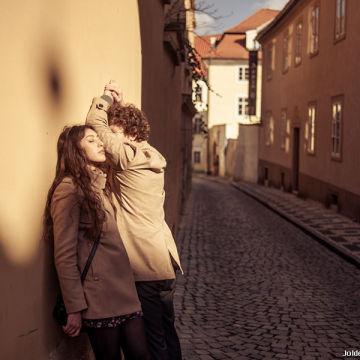 Прогулка по Праге и фотосессия с друзьями
