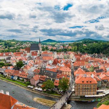 В Чешский Крумлов из Праги