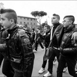 Итальянцы и римляне — жанровая фотография