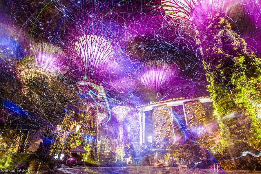 Космические сады в Сингапуре