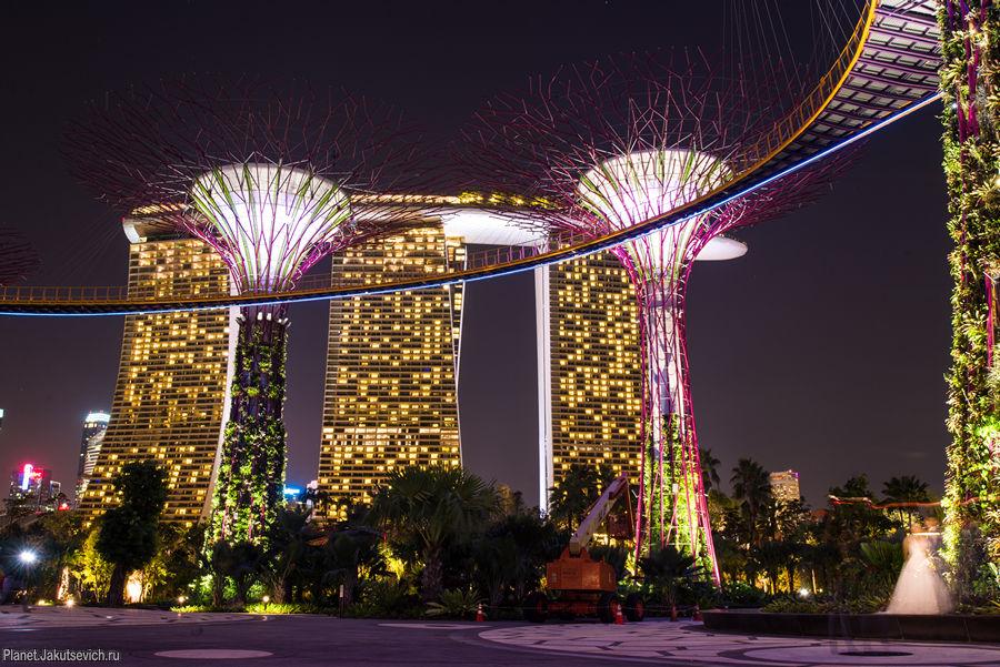 отель марина бэй сэндс сингапур