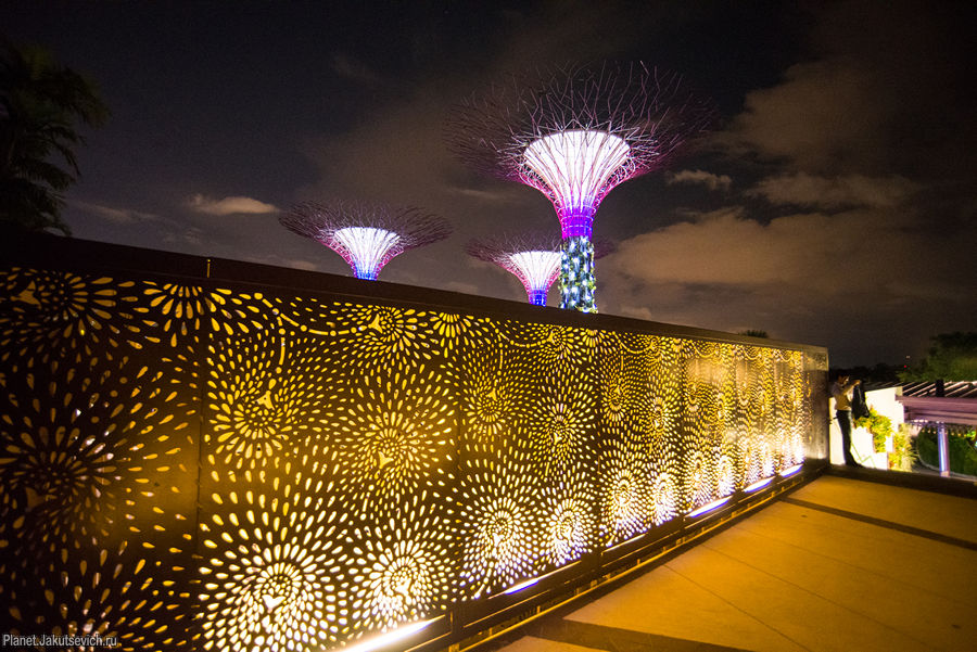 девятое чудо света  сады в Сингапуре