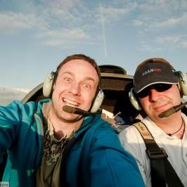 Как я летал над Чехией на самолете