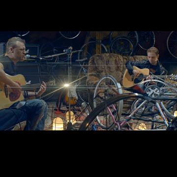 Велоакустика культовой брестской группы Дай Дарогу