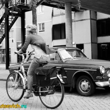 Фотографии Роттердама: велосипеды и другой транспорт