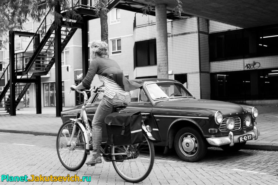 велосипеды в Роттердаме