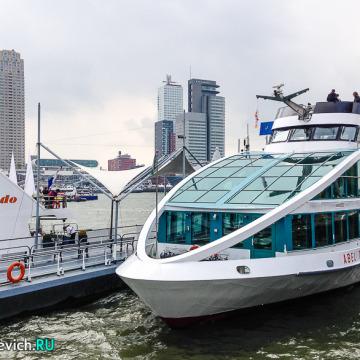 Прогулка по Роттердаму – экскурсия на корабле