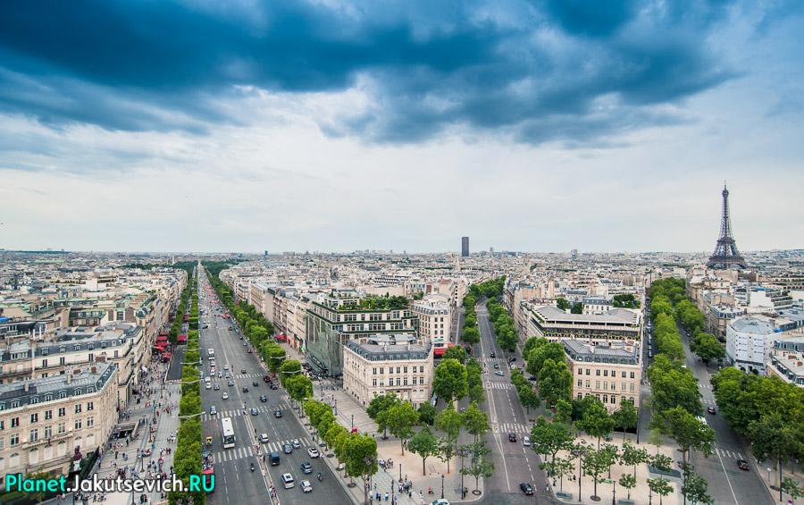 площади Согласия в Париже