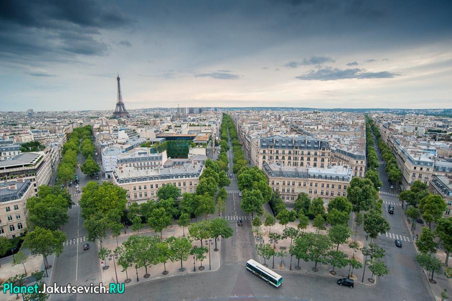 Проспекты Парижа