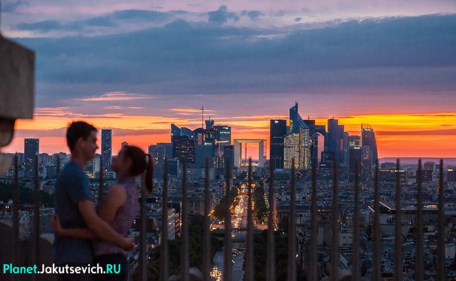 влюбленные в Париже - фотограф Артур Якуцевич